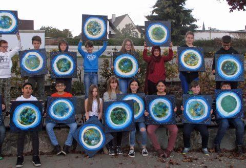 Kunstworkshop der Klasse 6.1