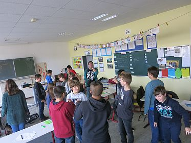 Projekttag in der Klasse 6.1